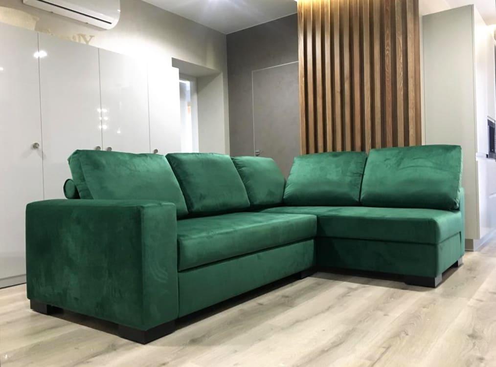 Диван угловой epsilon 01N - Мебельная Мануфактура